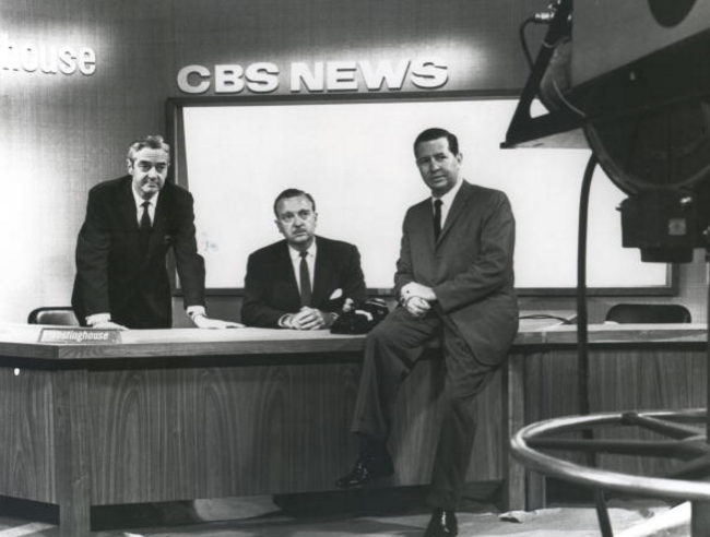 Network Television's First Evening News Anchor…Douglas