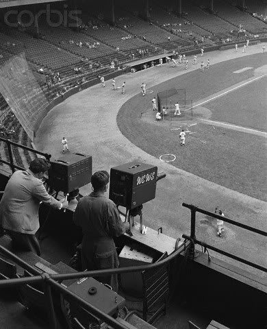 First Cleveland Indians Telecast: 1948 – Eyes Of A