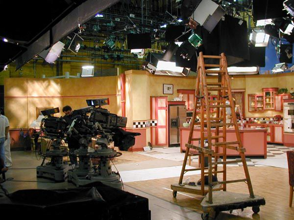 The Rosanne Set At Cbs Studio Center Eyes Of A