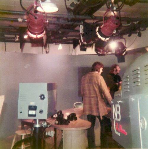 TeleTales #5…Ultra Rare Photo Of NBC Studio 5HN, Breaking